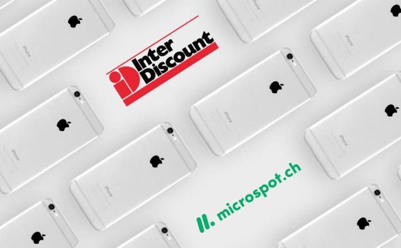 revendo neu auch bei Interdiscount & Microspot